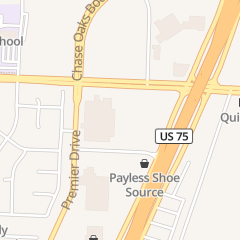 Directions for California Nail in Plano, TX 6001 N Central Expy