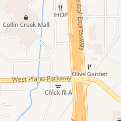 Directions for Sweet 17 Nails in Plano, TX 721 N Central Expy