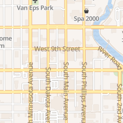 Directions for Evans Law Pc in Sioux Falls, SD 123 S Main Ave Ste 204