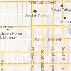 Directions for Steven S Siegel Atty in Sioux Falls, SD 110 N Minnesota Ave