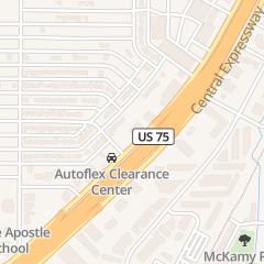 Directions for Autoflex in Richardson, TX 558 S Central Expy