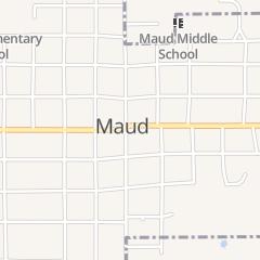 Directions for Omie's Kountry Kitchen in Maud, OK 111 E Wanda Jackson Blvd