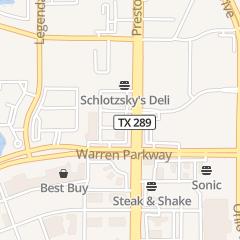 Directions for Casa Rita's Mexican Grill in Frisco, TX 3773 Preston Rd
