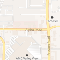 Directions for The Sportsplex At Valleyview in Dallas, TX 5702 Alpha Rd