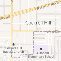 Directions for City of Cockrell Hill in Dallas, TX 4125 W Clarendon Dr