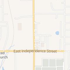 Directions for Beautycor in Shawnee, OK 1603 N Harrison St