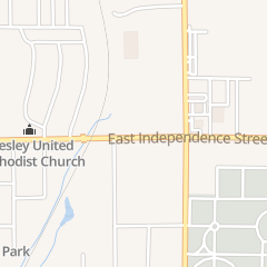 Directions for The Kneaded Body in Shawnee, OK 722 E Independence St Ste G
