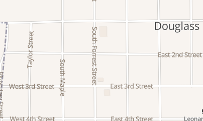Directions for 2nd Amendment Trading in Douglass, KS 202 n Forrest St