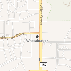 Directions for Whataburger Restaurant in Arlington, TX 2214 N Collins St