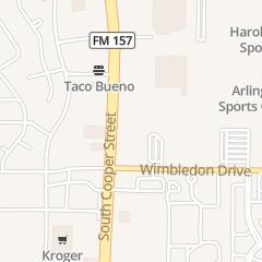 Directions for Arlington Fitness Venture in Arlington, TX 5001 S Cooper St