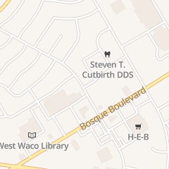 Directions for Strandz Hair Studio in Waco, TX 1615 Wooded Acres Dr Ste F