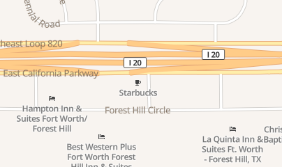 Directions for Christal's in Fort Worth, TX 3300 Se Loop 820