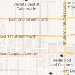 Directions for Auto Craft Collision Repair - Downtown in Wichita, KS 1427 E 1st St N