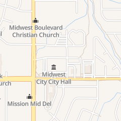 Directions for City of Midwest City in Oklahoma City, OK 100 n Midwest Blvd