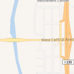 Directions for POORMAN AUTO SUPPLY INC in Wichita, ks 6100 W Central Ave