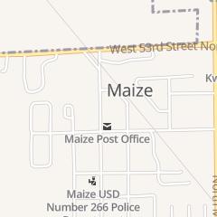 Directions for D & R Motors in Maize, KS 110 N Park St