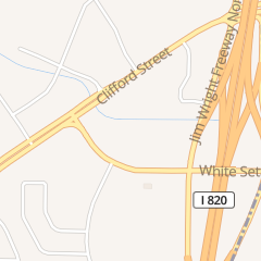 Directions for Extra Space Storage in Fort Worth, TX 9528 White Settlement Rd
