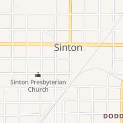 Directions for Backstreet Cafe in Sinton, TX 106 E Borden St