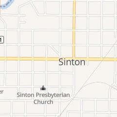 Directions for 24-7 Bail Bonds in Sinton, TX 115 N Rachal St
