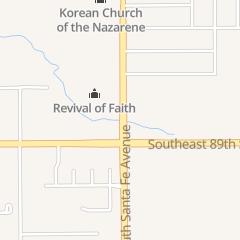Directions for FAMILY THERAPUETIC in Oklahoma City, OK 8901 S Santa Fe Ave Ste E