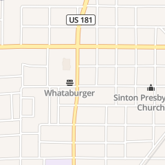 Directions for Ats Tire Service in Sinton, TX 518 W Merriman St