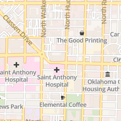 Directions for Midtown Cryotherapy in Oklahoma City, OK 421 Nw 10th St Ste 202e