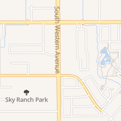 Directions for Ini Nail Salon in Oklahoma City, OK 9356 S Western Ave