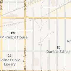 Directions for Meier's Moving & Storage - Tm Awgi llc in Salina, KS 344 N 5th St