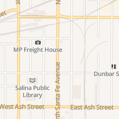 Directions for Meier's Moving & Storage in Salina, KS 352 n Santa Fe Ave