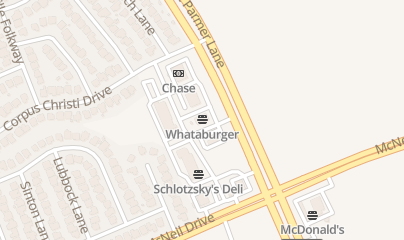 Directions for Little Woodrows in Austin, TX 6301 W Parmer Ln