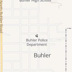 Directions for Buhler City Police Department - Police Dept in Buhler, KS 219 N Main St