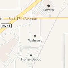 Directions for Walmart Supercenter in Hutchinson, KS 1905 e 17th Ave