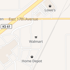 Directions for Walmart Tires & Auto Parts in Hutchinson, KS 1905 E 17th Ave