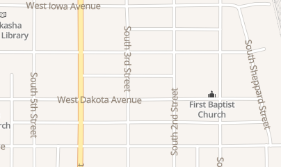Directions for B & P Shooting Sports in Chickasha, OK 527 S 3rd St