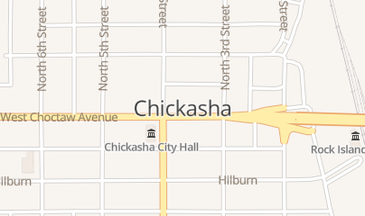 Directions for Oklahoma All State Roofing in Chickasha, OK Chickasha