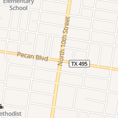 Directions for Blancas Bridal & Boutique in Mcallen, TX 1615 N 10th St