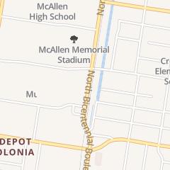 Directions for City of McAllen in McAllen, TX 1921 N Bicentennial Blvd