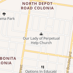 Directions for Our Lady of Perpetual Help Catholic Church in Mcallen, TX 2209 Kendlewood Ave