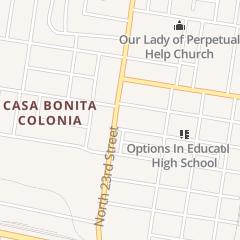 Directions for Delicias Tortas Y Paletas in Mcallen, TX 600 N 23rd St