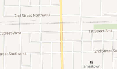Directions for Gun & Reel Sports Inc in Jamestown, ND 115 1st St W