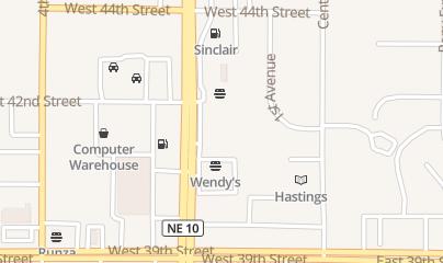 Directions for Fit Zone for Women International in Kearney, NE 4105 2Nd Ave