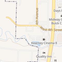 Directions for BIG APPLE FUN CENTER in Kearney, ne 500 W 4Th St